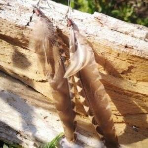 veren oorbellen