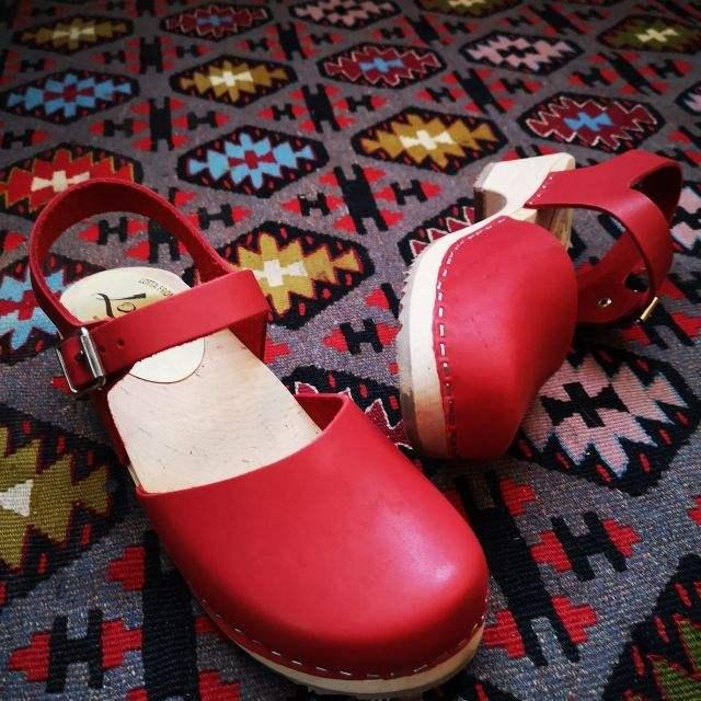 rood - lage klompjes - Merk: Lotta from Stockholm