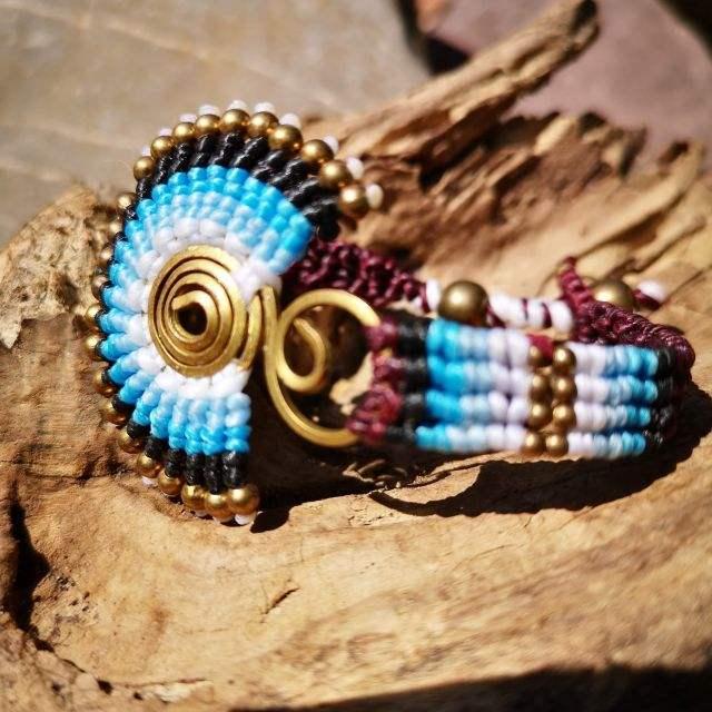 blauw - Armband