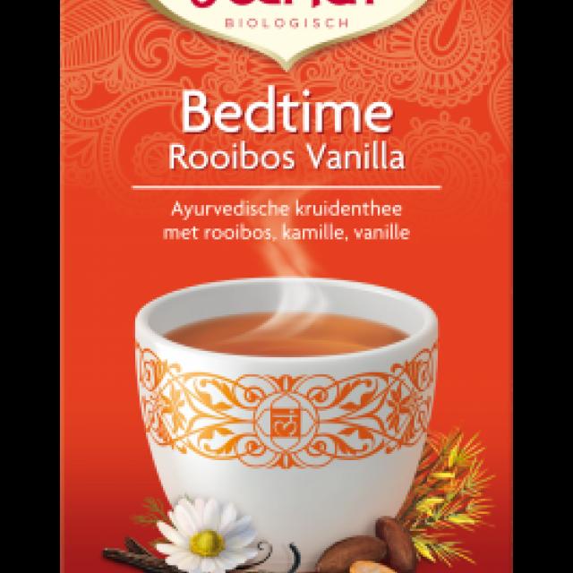 bedtime rooibos vanilla - yogi thee