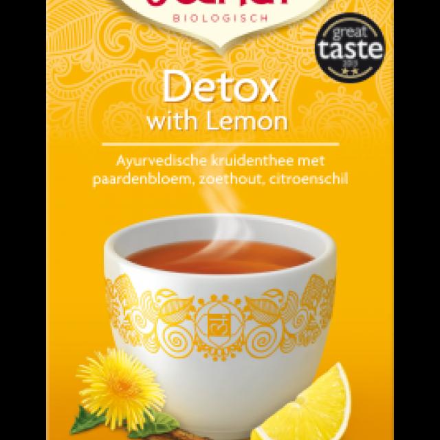detox with lemon - yogi thee