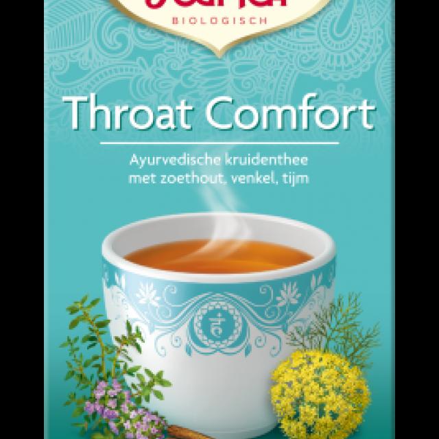 throat comfort - yogi thee