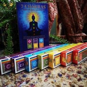 chakra incense box