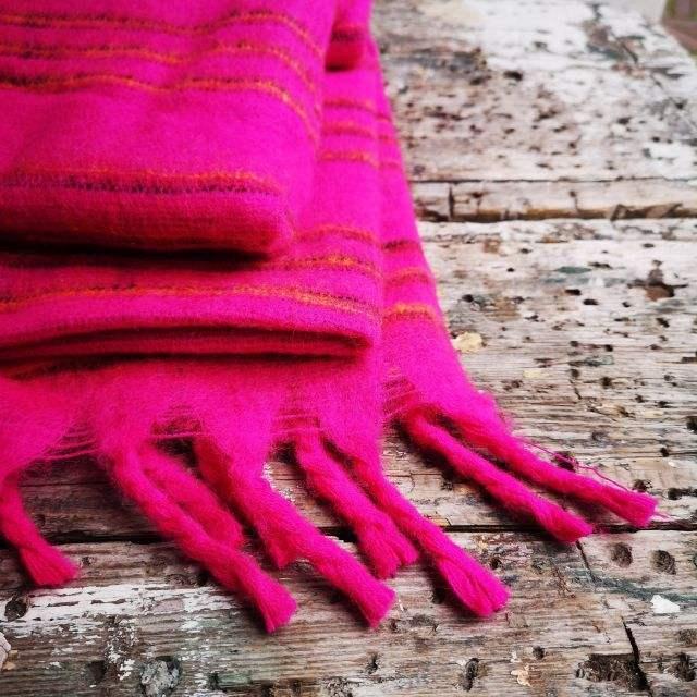 roze - omslagdoek ~ meditatiedeken