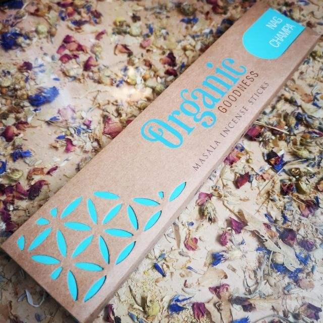 Nag Champa - organic goodness
