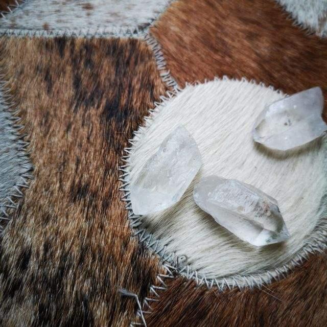 bergkristal - ruwe edelsteen